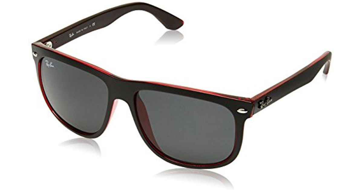 ada38f14157 Lyst - Ray-Ban 0rb4147 60414060 Highstreet Boyfriend Sunglasses in Black  for Men - Save 20%