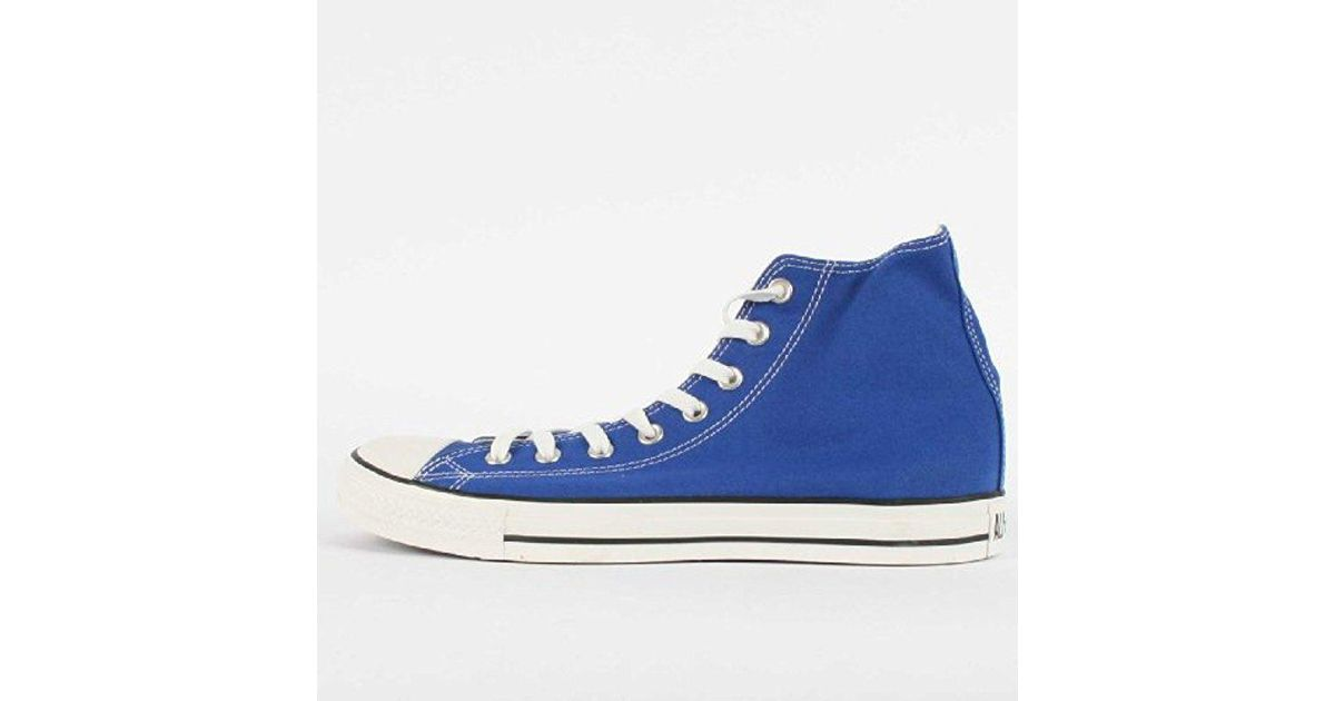 c54760d4dc28 Lyst - Converse S Chuck Taylor All Star High Top in Blue for Men