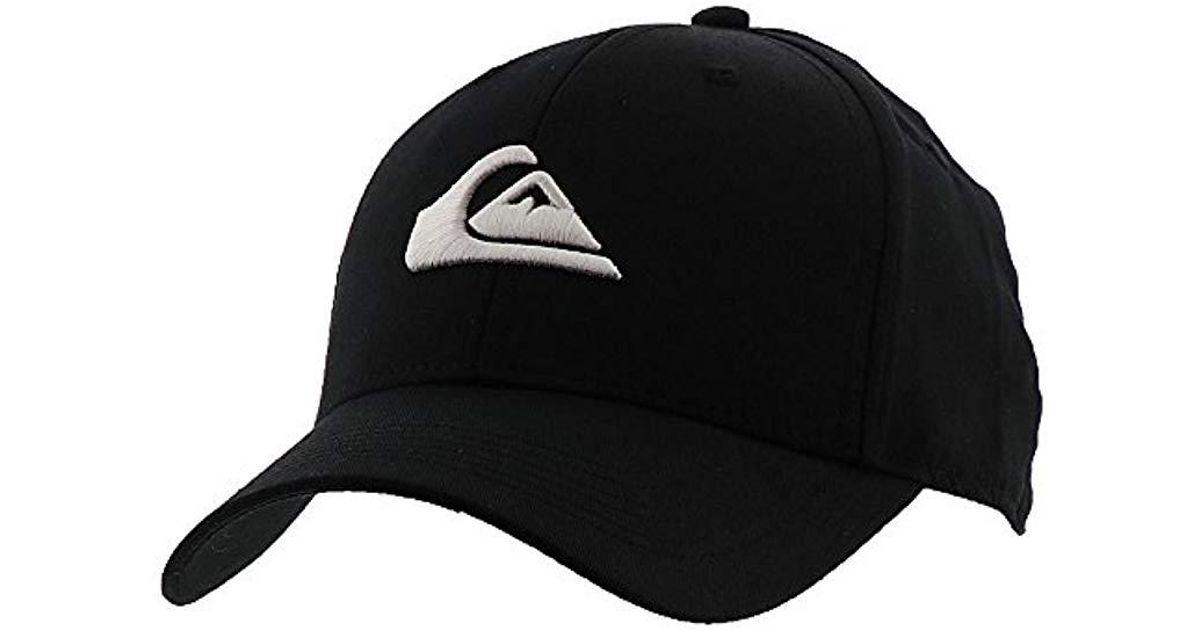 ab831a4b Quiksilver Snapback Cap in Black for Men - Lyst
