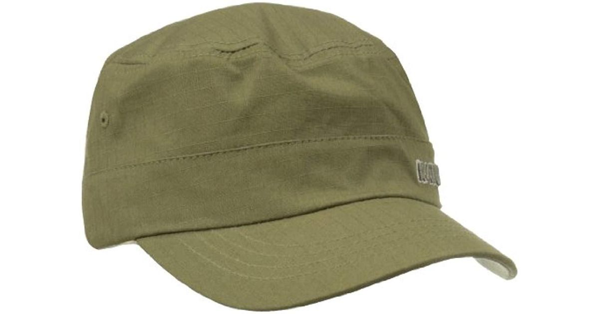 Lyst - Kangol Ripstop Army Cap in Green for Men b9942ae04f3