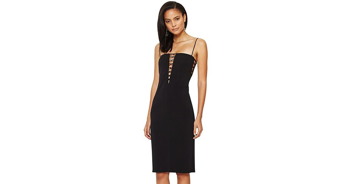 Bec   Bridge Metamorphic Plunge Dress In Black in Black - Lyst 6c0774097
