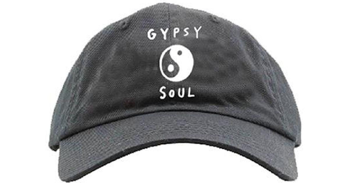 b92146ef564 Lyst Spiritual Gangster Gypsy Soul Dad Hat In Black For Men