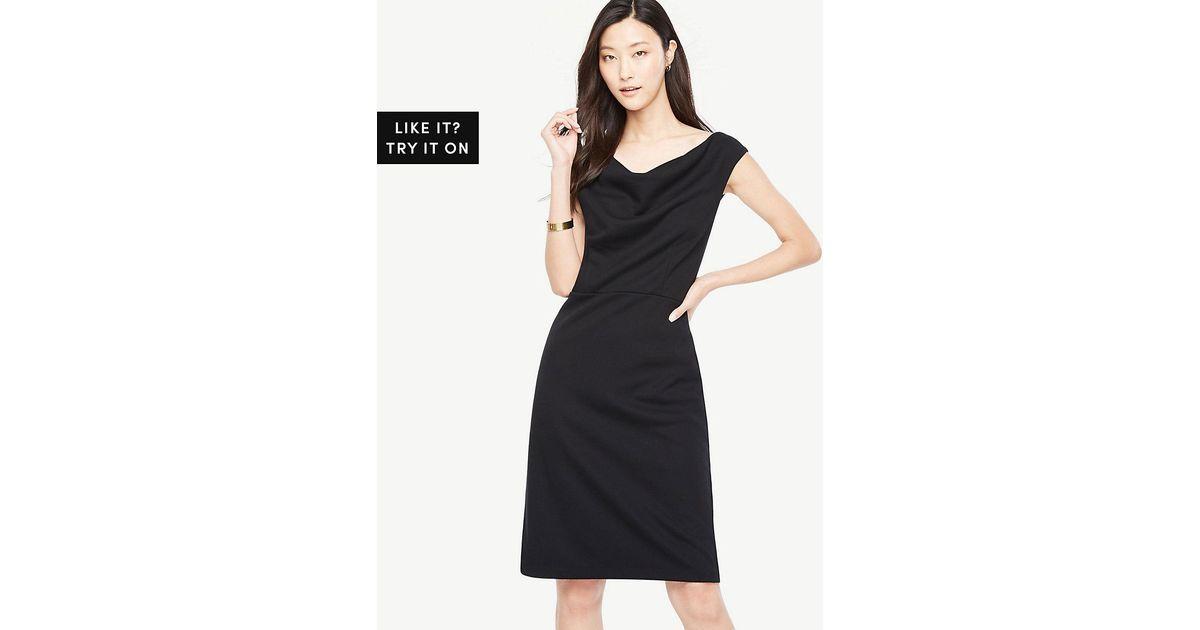 3b0d4f01352 Ponte Sheath Dress Ann Taylor - Dress Foto and Picture