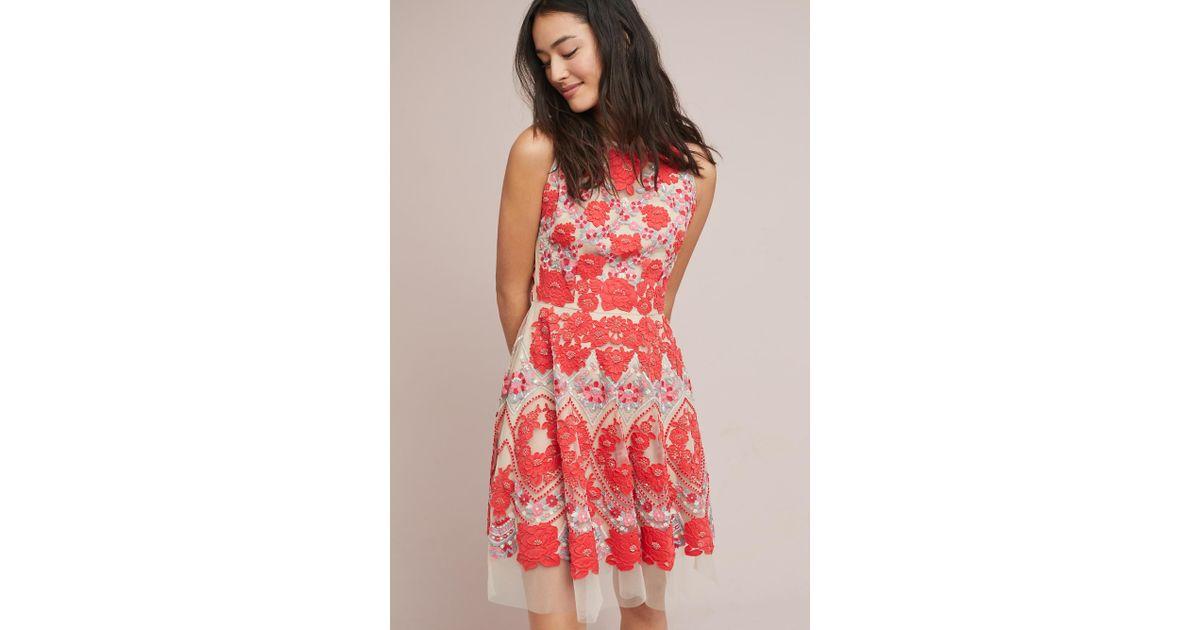 Anthropologie Maeve Elsa peplum lace dress XS