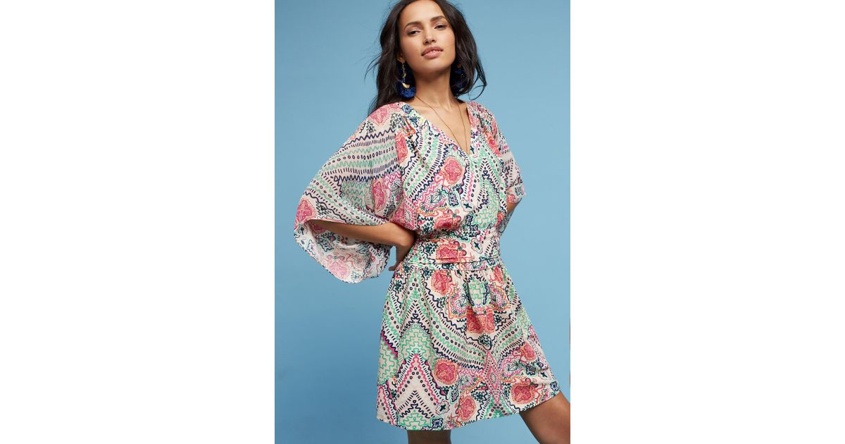 78a87373f77 Maeve Siya Kimono Dress