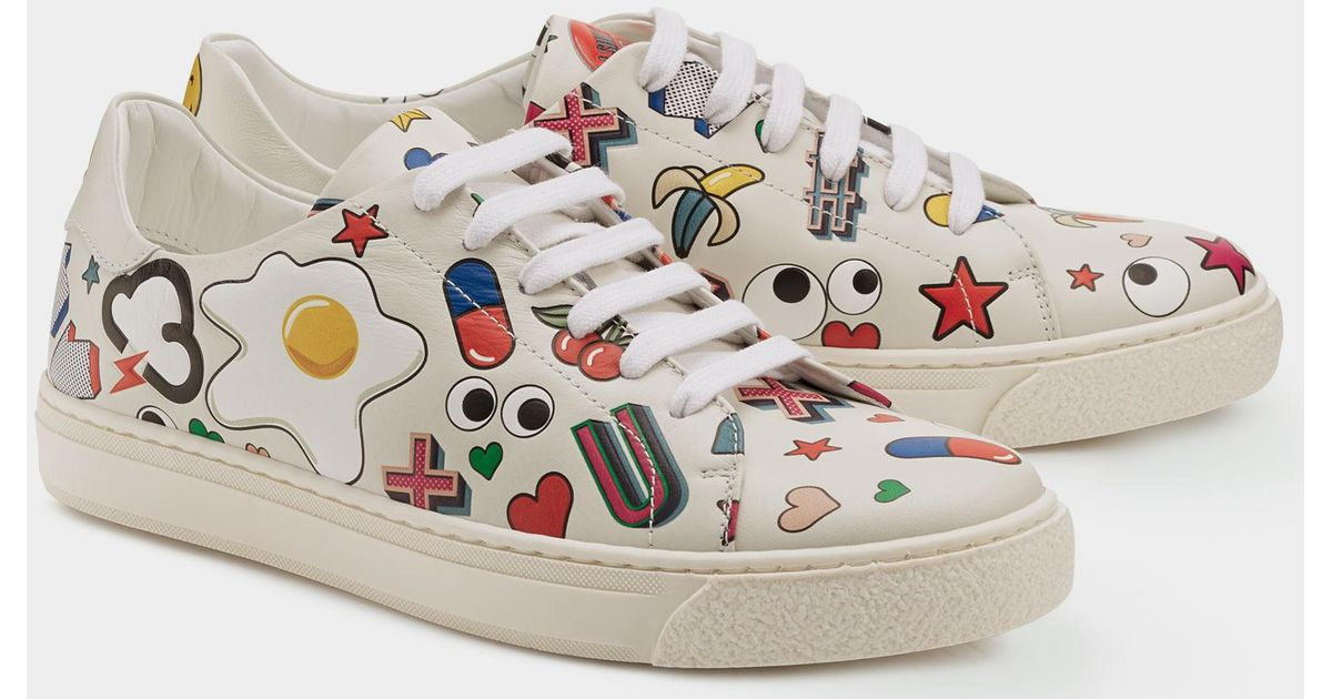 All Over Stickers Sneakers Anya Hindmarch DrnZy