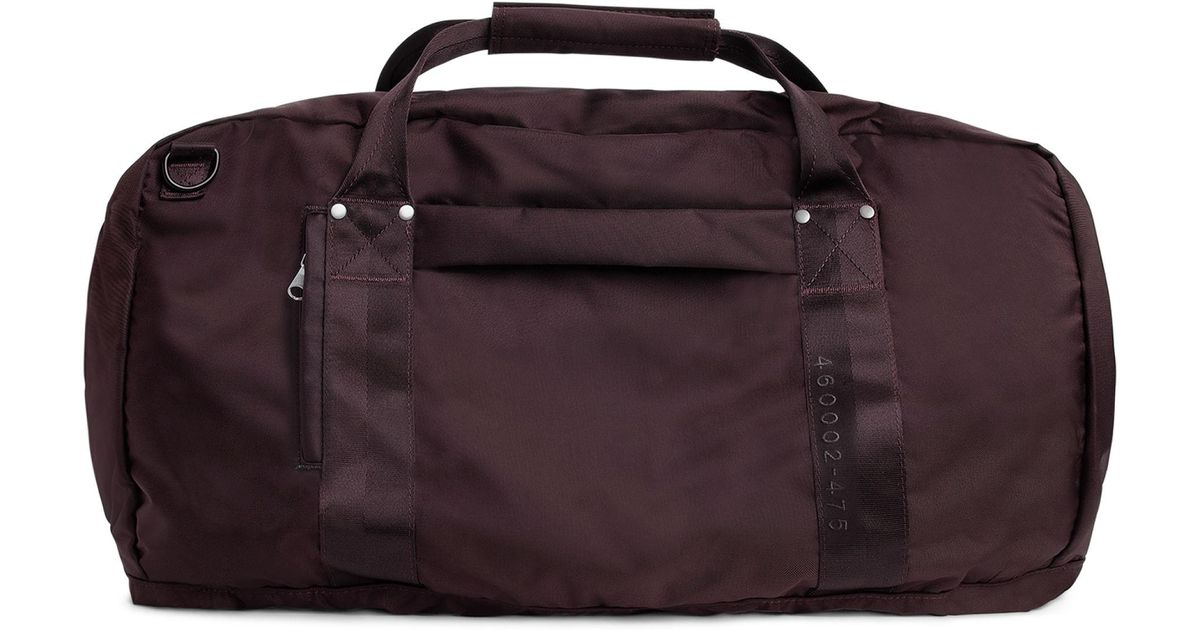 dcace43814 ARKET 72-hour 3-way Duffle in Red - Lyst