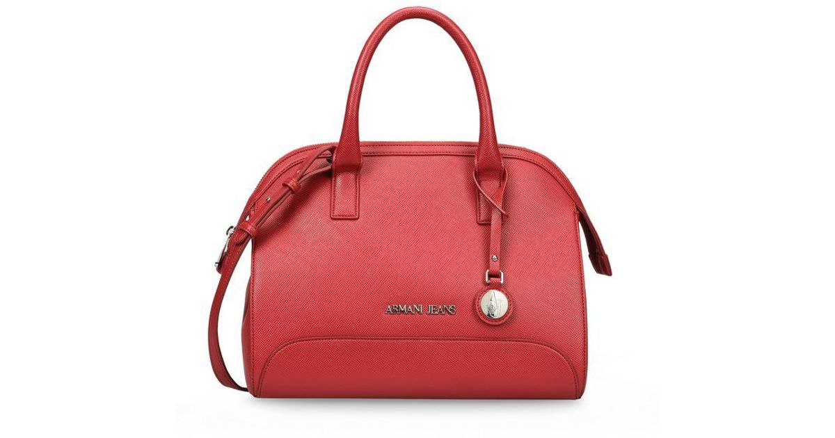 aff85c302a Lyst - Armani Jeans Bauletto in Red