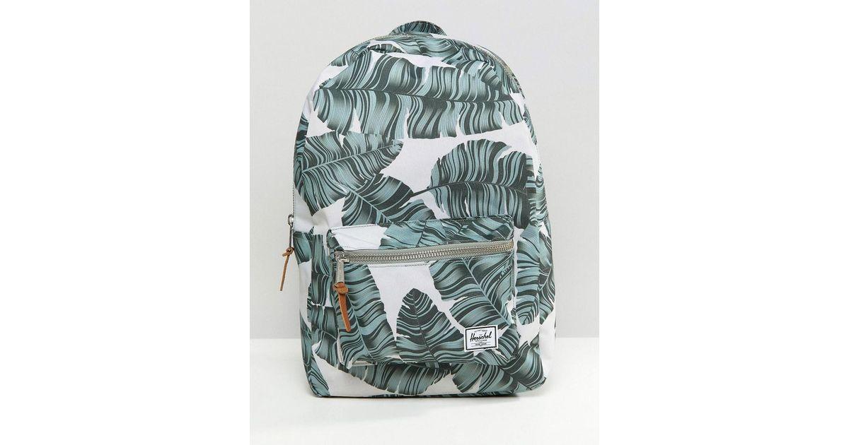 Lyst - Herschel Supply Co. Settlement Backpack In Palm Print b8fff121ba