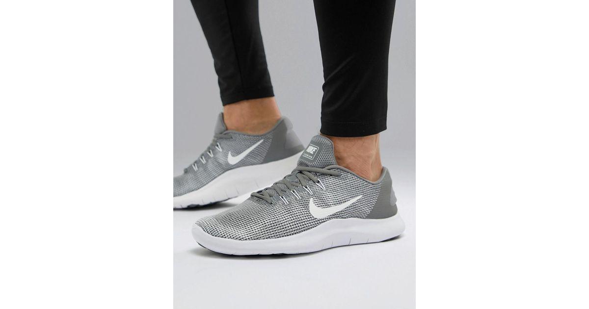low priced a63ee 8b0ee deporte Flex 2018 de para Zapatillas hombre Lyst gris gris Aa7397 Nike en  010 fW15HnRS