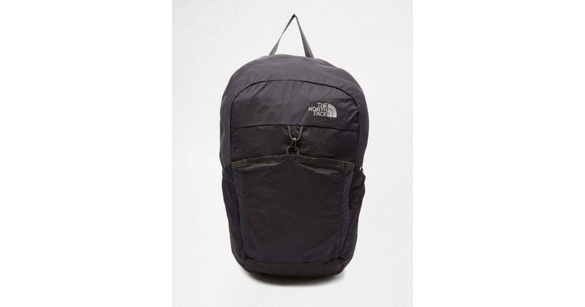 af8eaedcb3c1 Lyst - The North Face Flyweight Packable Backpack in Black for Men