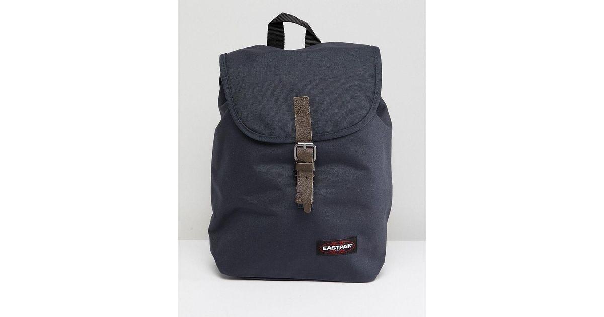 Lyst - Eastpak Flapover Backpack in Blue for Men