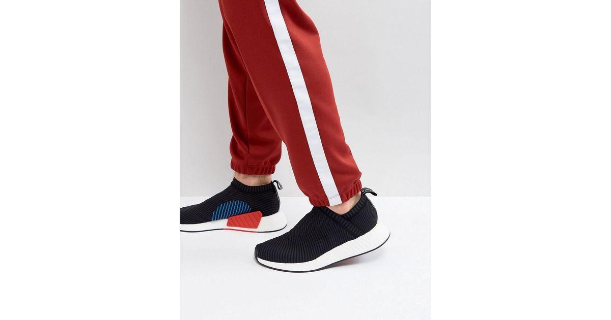 fd839c003 Lyst - adidas Originals Nmd Cs Primeknit Trainers In Black Cq2372 in Black  for Men