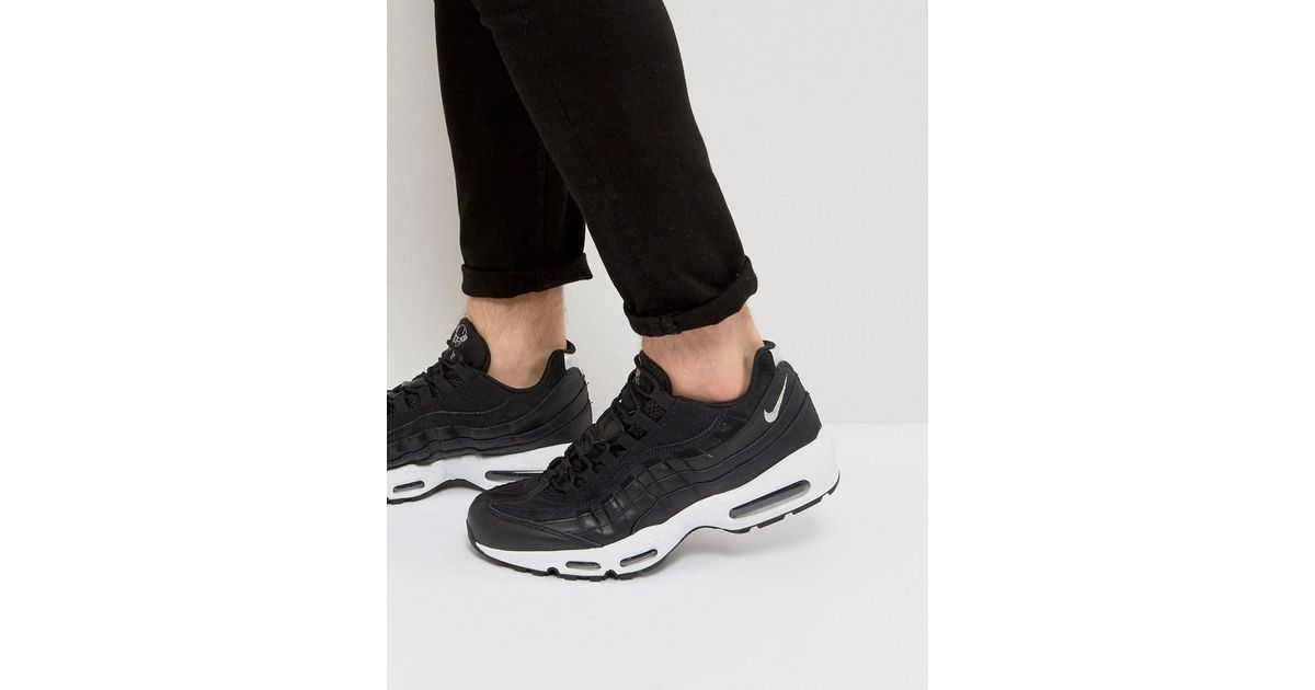big sale a522d d720e Nike Air Max 95 Premium  rebel Skulls  Trainers In Black 538416-008 in Black  for Men - Lyst