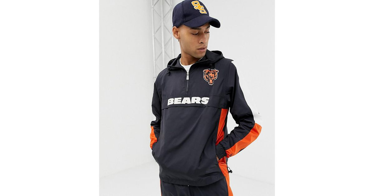 213bffd55396c KTZ Nfl Chicago Bears Windbreaker Jacket Exclusive To Asos in Blue for Men  - Lyst