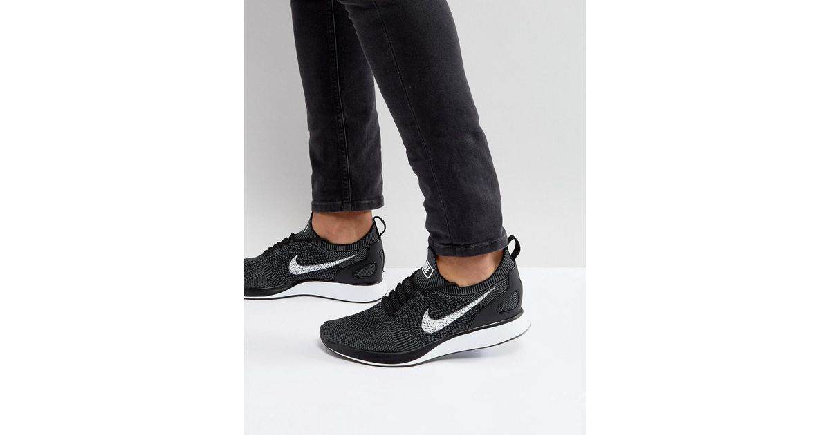 newest 05a3a 43bae Nike  fast Pack  Air Zoom Mariah Flyknit Racer Sneakers In Black 918264-001  in Black for Men - Lyst