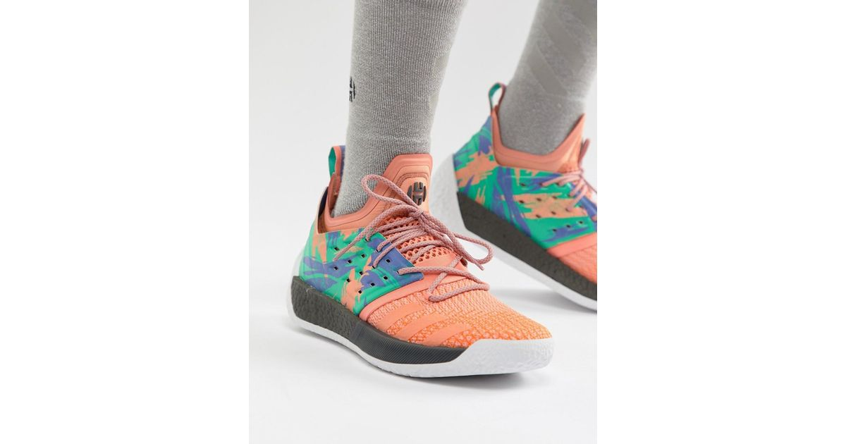 55cdf7a9592 adidas Basketball X Harden Vol 2 Graft Day Sneakers In Pink Ah2219 in Gray  for Men - Lyst
