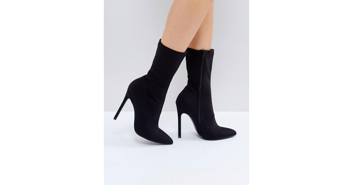 Truffle Collection Stiletto Sock Boot 1mS0af