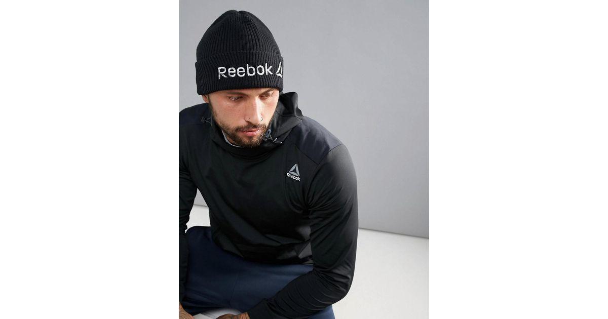 Training Beanie In Black BQ4862 - Black Reebok Doo6uGpA76