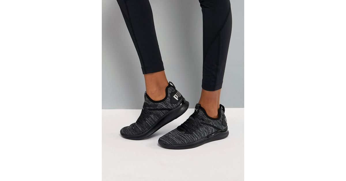 Puma Running Ignite Flash Evoknit Satin Trainers Best Prices Cheap Online Outlet Discount Sale Free Shipping Outlet OpK9dC