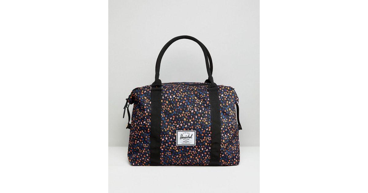 e4577277222 Herschel Supply Co. Herschel Strand Mini Floral Holdall - Lyst