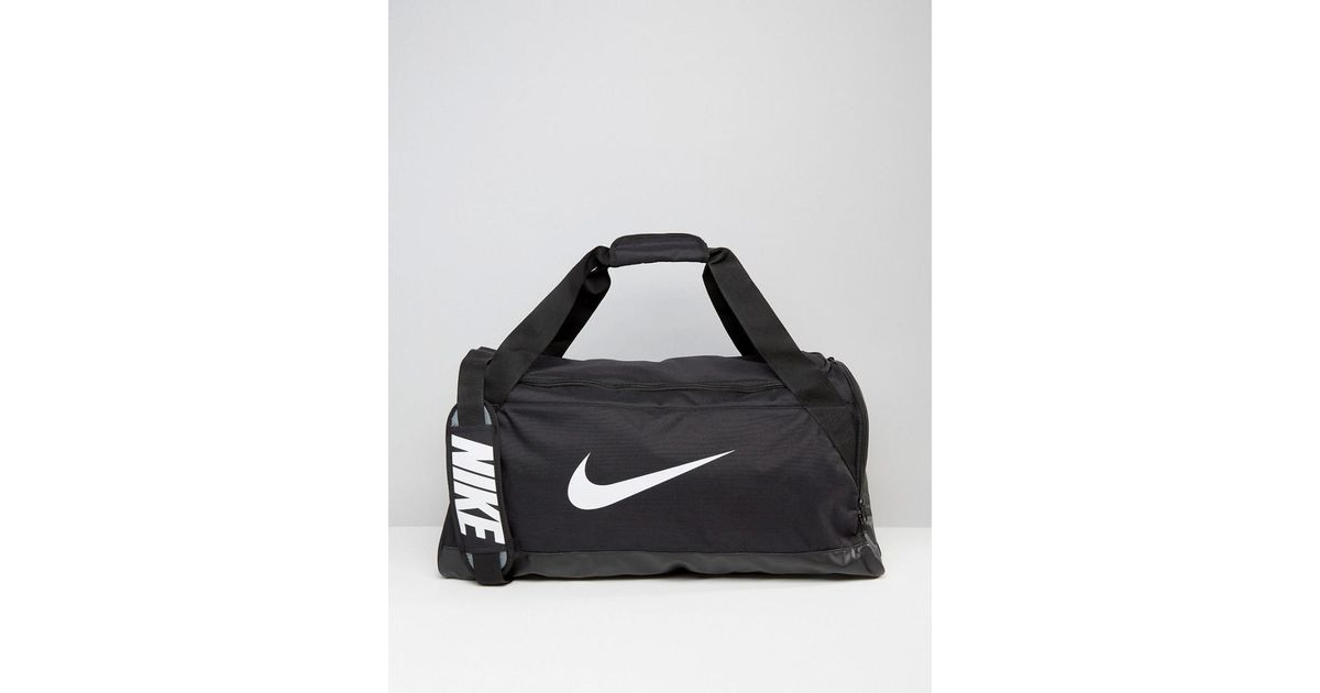 Nike Medium Brasilia Holdall Bag In Black Ba5334-010 in Black for Men - Lyst 8e0c678763026