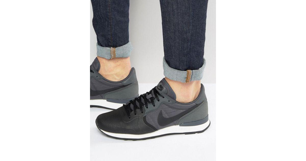 Internationalist Premium Trainers In Grey 882018-001 - Grey Nike 6UpNjiEsj