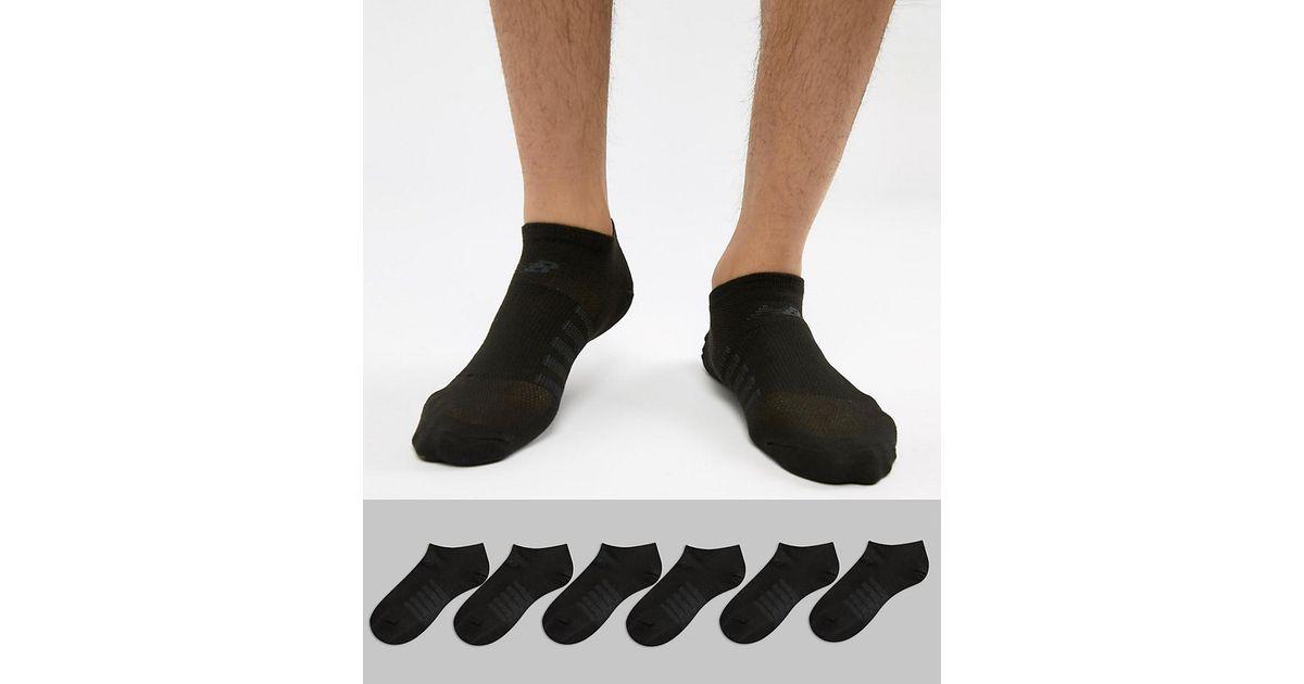 Cheap Release Dates 6 Pack No Show Socks In Black N4010-032-6EU BLK - Black New Balance Explore 8xcSb