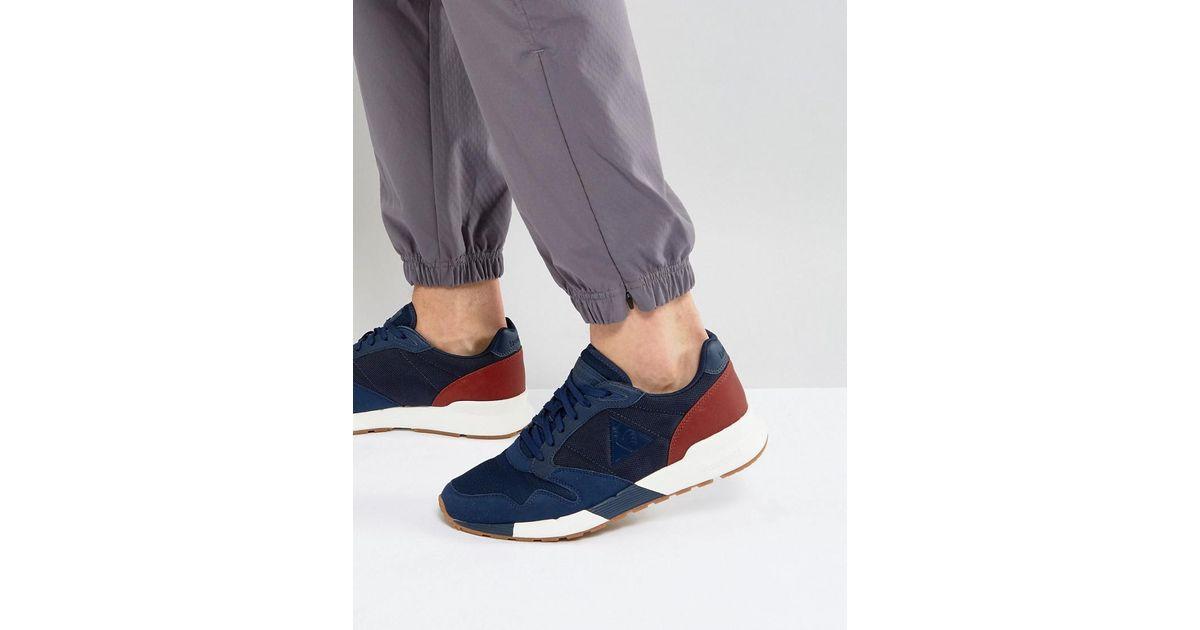 fd83fca18e30 Lyst - Le Coq Sportif Omega X Craft Sneakers In Blue 1720545 in Blue for Men