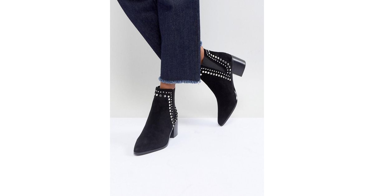Kiralia Studded Leather Ankle Boot - Black Aldo Discount Best Place Discount Get Authentic nm3s7d
