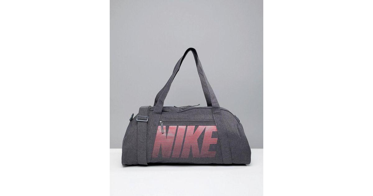 7efffa8ffcc Nike Nike Gym Club Training Duffel Bag In Grey in Gray - Lyst