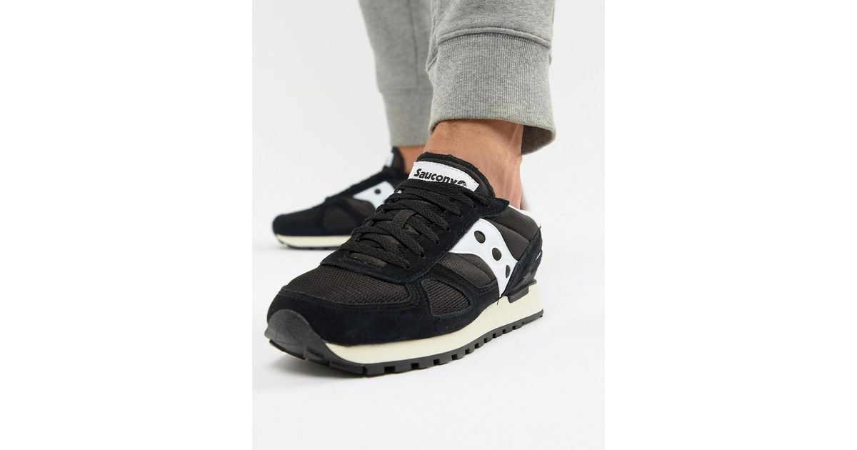 new styles 0ba3d 05179 Saucony Shadow Original Trainers In Black S70424-2 in Black for Men - Lyst