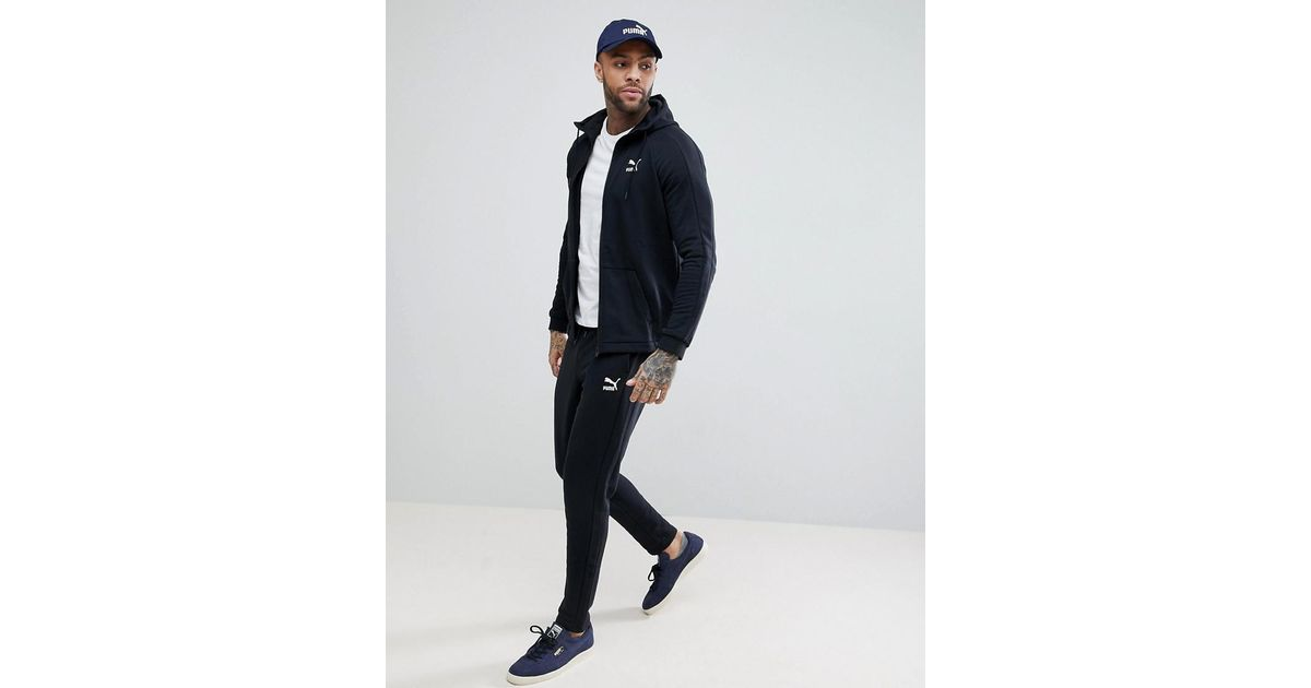 Tracksuits & Sets Men's Clothing Asos Slim Fit Black Tracksuit Size Medium A Great Variety Of Models