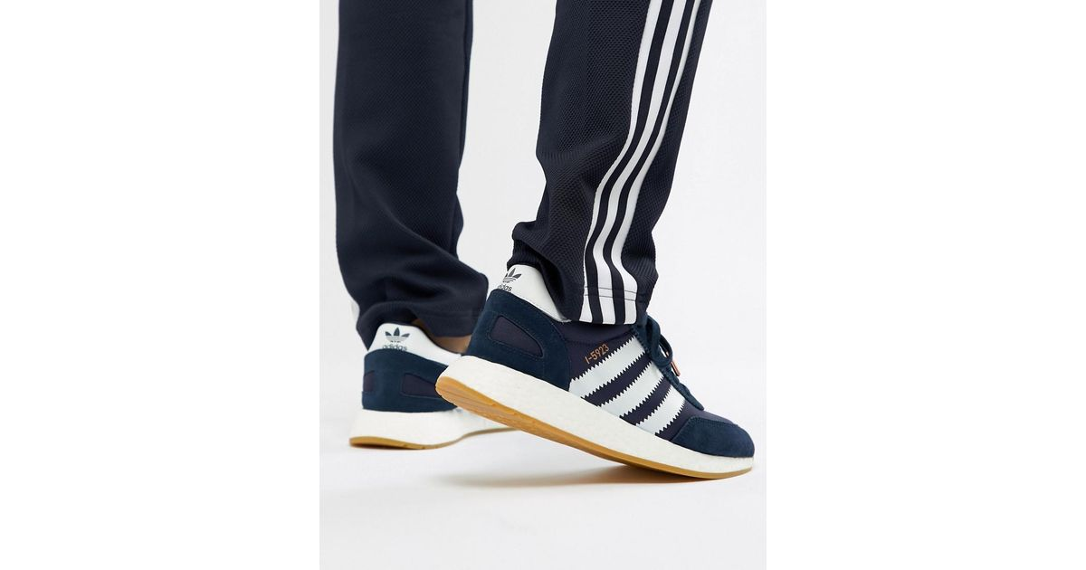 f50868c7b523 adidas Originals I-5923 Runner Sneakers In Navy Bb2092 in Blue for Men -  Lyst