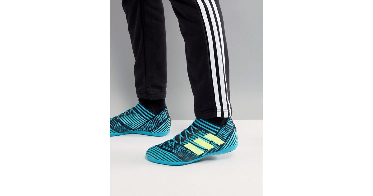 c23eba71a6c adidas Football Nemeziz Tango 17.3 Indoor Trainers In Navy By2462 in Blue  for Men - Lyst