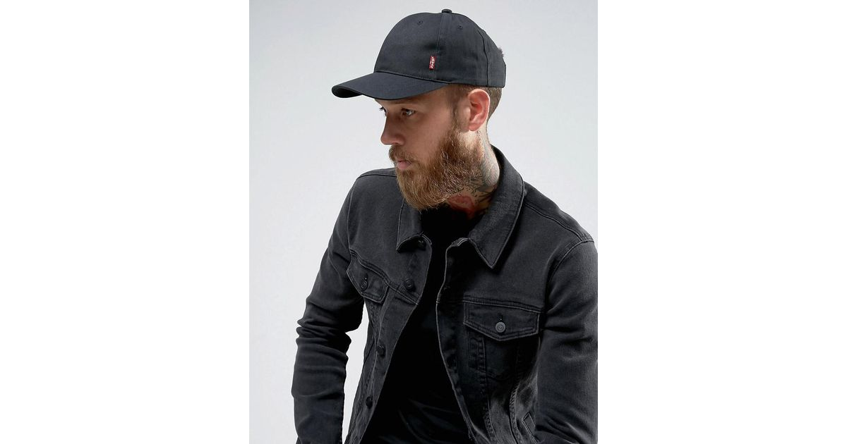 797153d9ca2e5d Levi's Levi's Classic Baseball Cap Black in Black for Men - Lyst