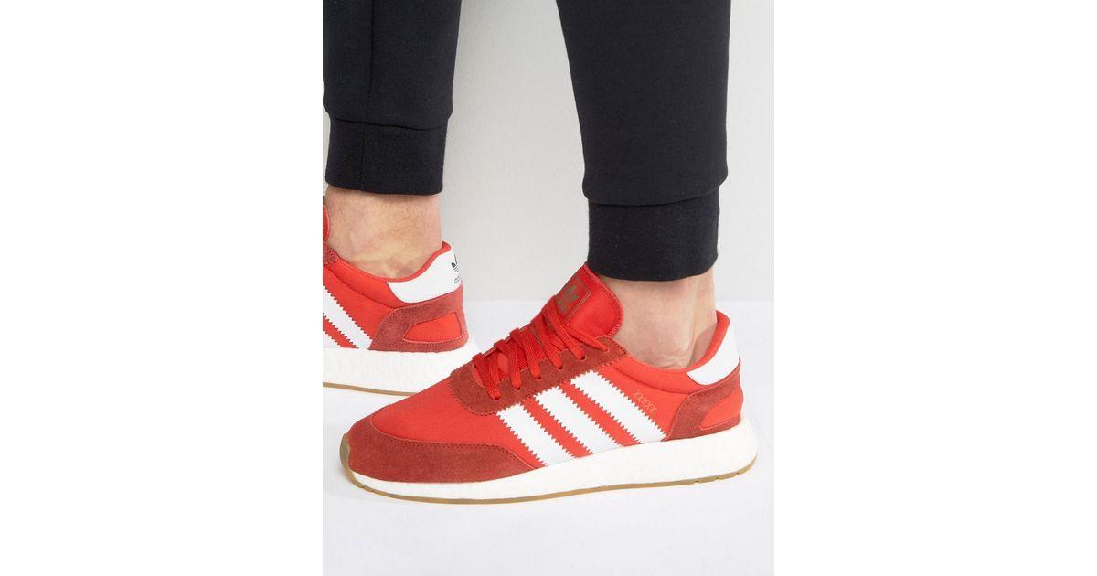 Lyst adidas Originals i 5923 Runner Trainers en rojo bb2091 en rojo