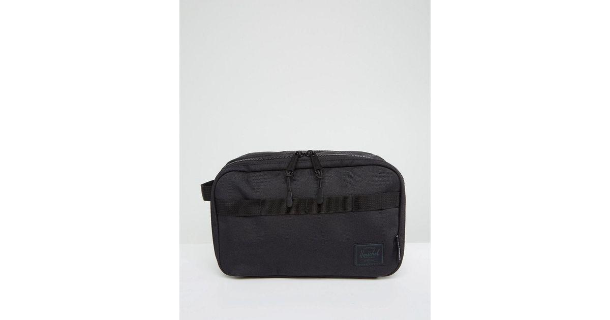 7019fb525324 Herschel Supply Co. Herschel X Independent Truck Company Chapter Wash Bag  in Black for Men - Lyst