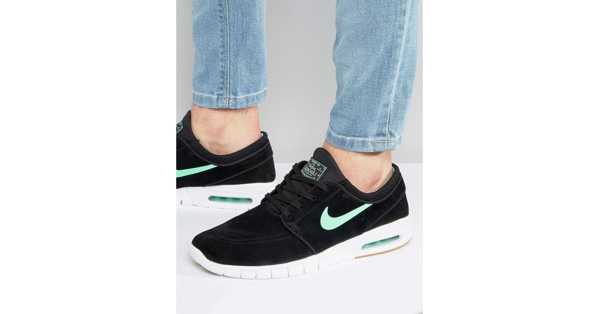 quality design 98514 7109a Nike Stefan Janoski Max L Trainers In Black 685299-039 in Black for Men -  Lyst