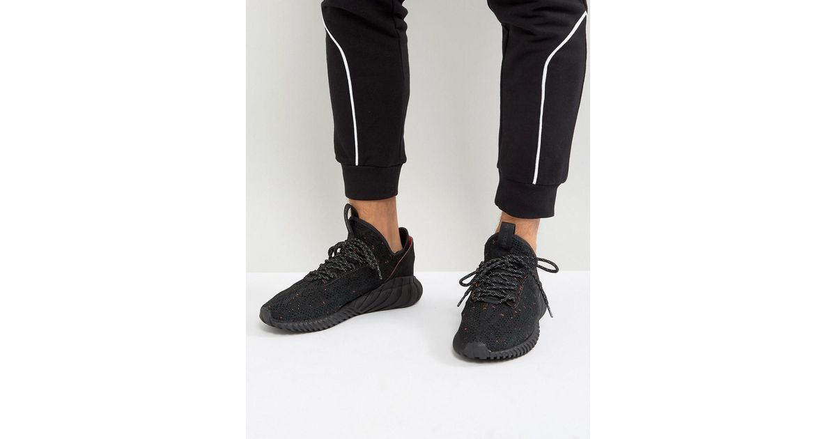 adidas Originals Tubular Doom Sock Primeknit Sneakers In Black By3559 in  Black for Men - Lyst 107982696