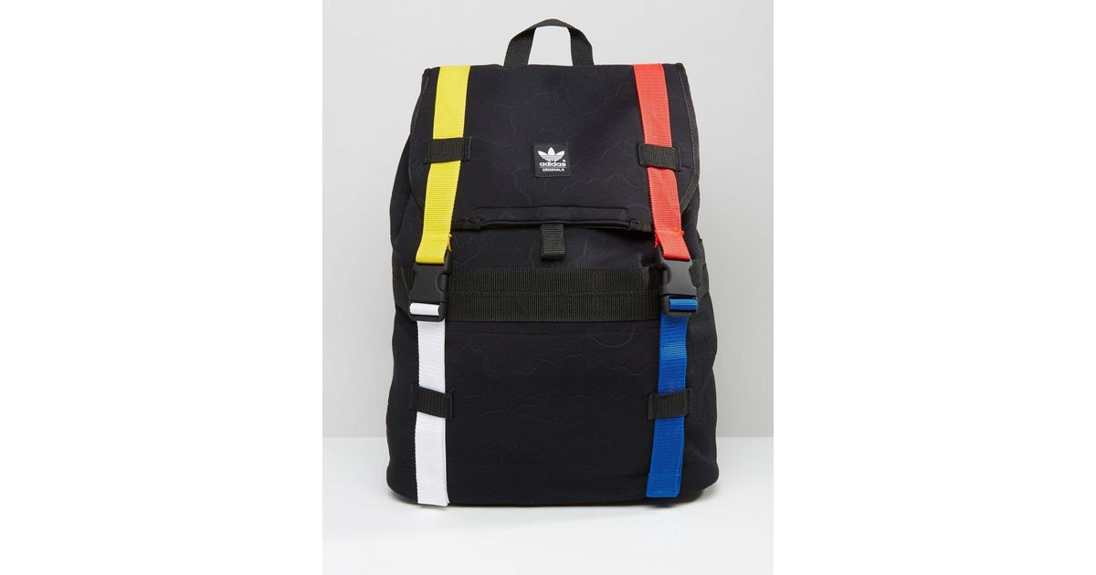 27cdcbb9f485 Lyst - adidas Originals Adventure Backpack In Black Ay7770 in Black for Men