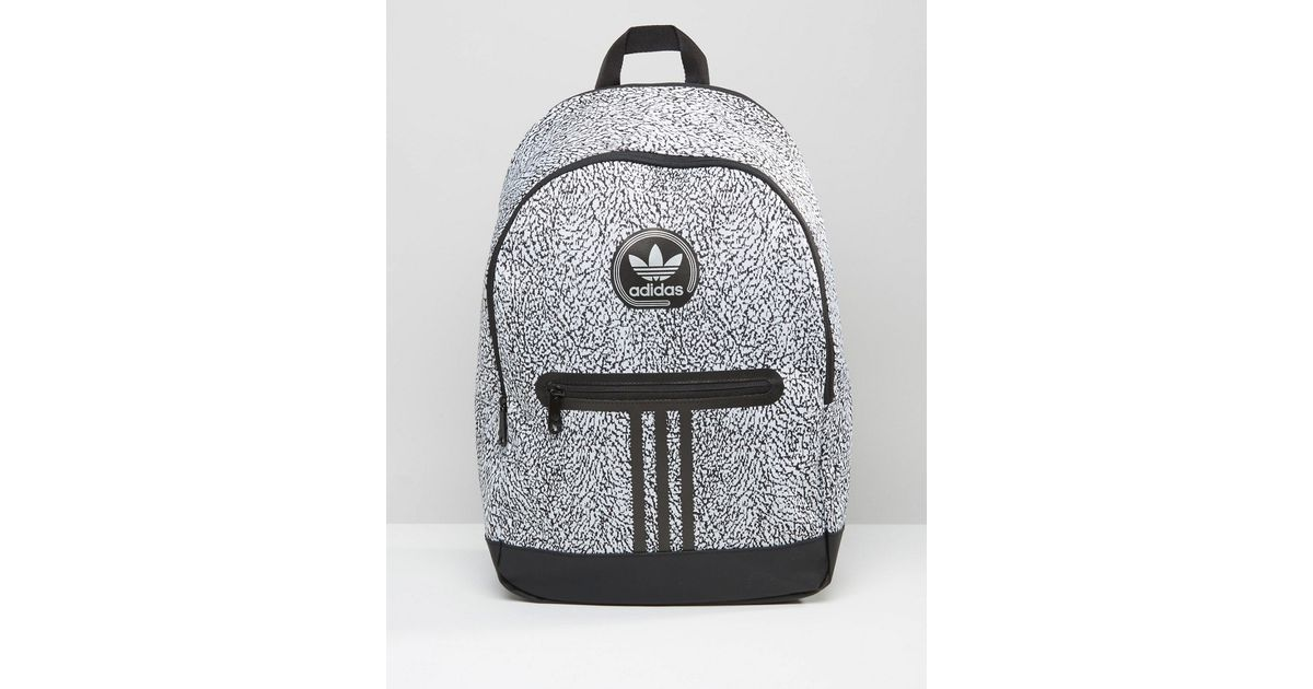 Lyst - adidas Originals Backpack With Print In Black Ay7837 - Black in  Natural for Men cd15d47d12a2d