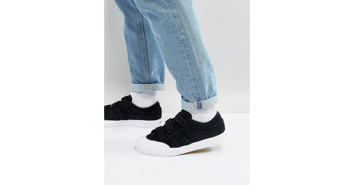 482a27b2e0ce Lyst - adidas Originals Matchcourt Cf Trainers In Black Cg4509 in Black for  Men