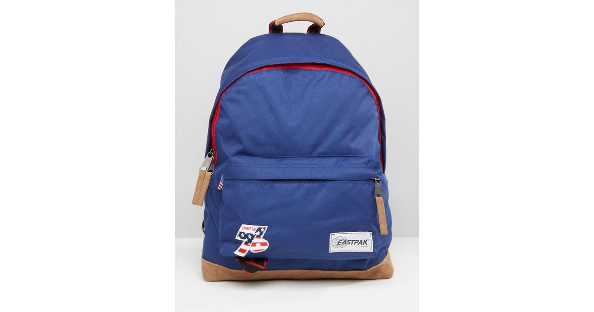 Lyst - Eastpak Wyoming Vintage Backpack In Blue in Blue for Men