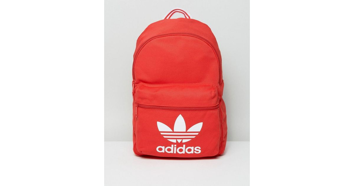 ... new style 3e821 9bf2f Lyst - Adidas Originals Adidas Tricot Classic  Backpack in Re ... 957a329d69
