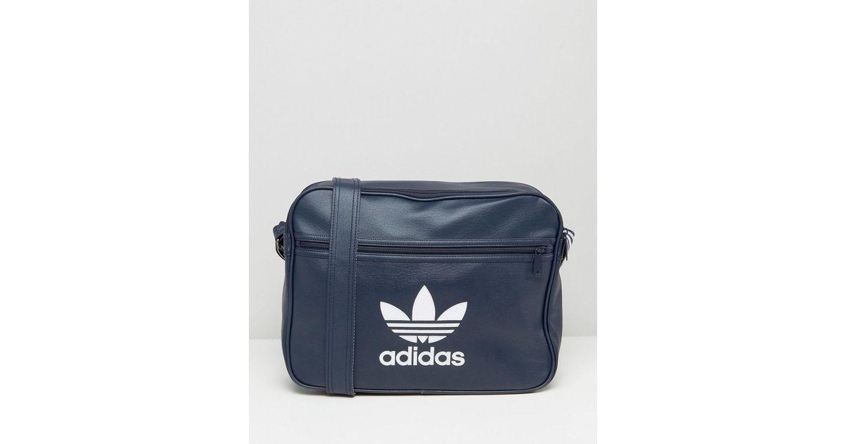 ed9316614e adidas Originals Adidas Airliner Bag in Blue for Men - Lyst