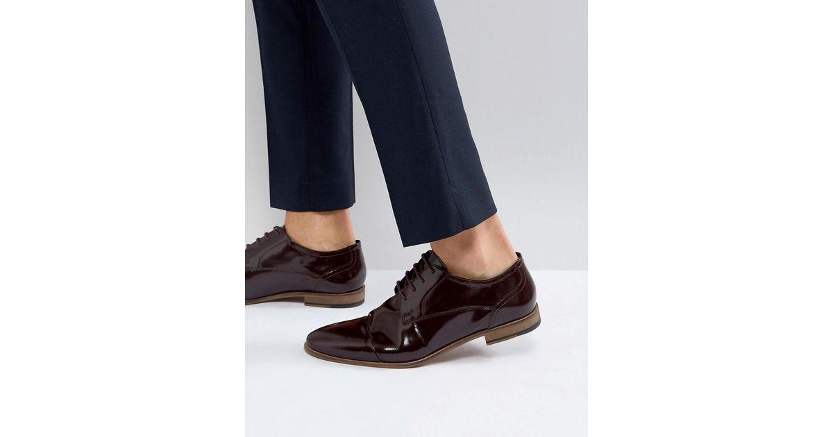 Kurt Geiger KG By Kurt Geiger High Shine Toe Cap Shoes iz50O