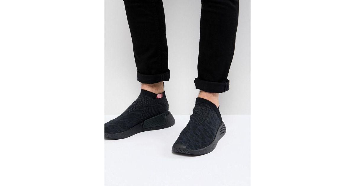 Lyst - adidas Originals Nmd Cs2 Primeknit Boost Sneakers In Black Cq2373 in  Black for Men d512648ac