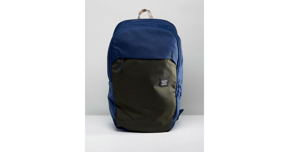 Lyst - Herschel Supply Co. Mammoth Backpack Large 23l in Blue for Men 781d3bd11a383