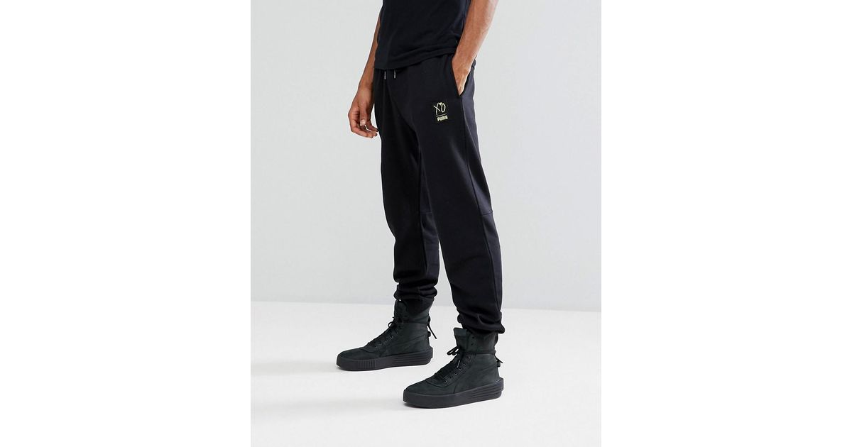 42a99741ddf7 Lyst - PUMA X Xo Joggers In Black 57535001 in Black for Men